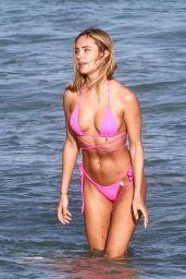 Kimberley Garner in a Bikini - Miami Beach 12/31/2020
