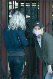Kristen Stewart and  Dylan Meyer - Out in Los Feliz 01/04/2021