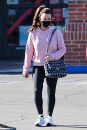 Kyle Richards in Tights - Los Angeles 01/08/2021
