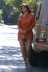 Kylie Jenner - Out For Lunch in Beverly Hils 10/19/2020