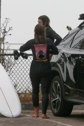 Leighton Meester - Morning Surf Session in Malibu 01/08/2021