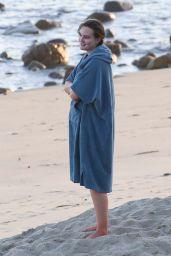 Leighton Meester - Surfing in Malibu 01/04/2021