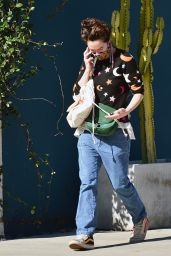 Lena Headey - Out in West Hollywood 01/26/2021