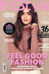 Lily Collins - InStyle Magazine Germany February 2021 Issue