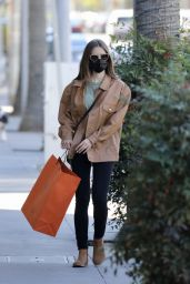 Lily Collins - Shopping in Los Angeles 01/14/2021