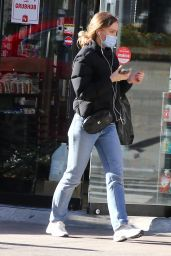 Lily Rose Depp in Downtown Manhattan 01/06/2021