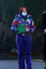 Lourdes Leon in a Colorful Outfit - Brooklyn 01/20/2021