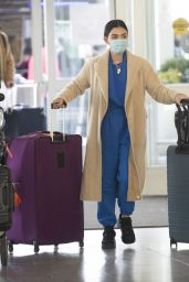 Lucy Hale - Catching a Flight Out of JFK in NY 01/01/2021