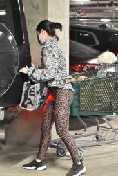 Lucy Hale - Groceries Shopping at Whole Foods in Studio City 01/02/2021
