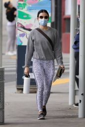 Lucy Hale – Heads to Her Gym in LA 01/24/2021