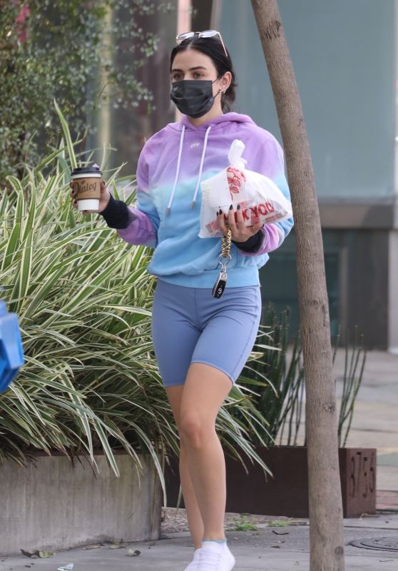 Lucy Hale - Out in Hollywood 01/07/2021