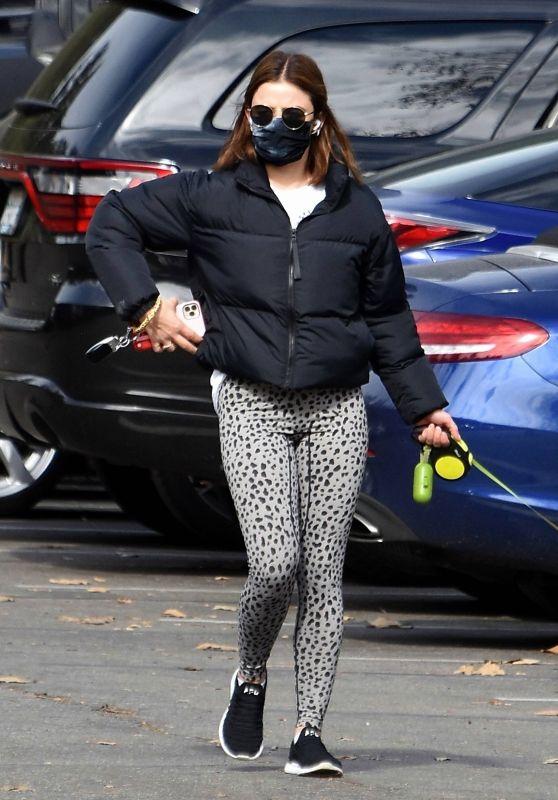 Lucy Hale - Out in Los Feliz 01/28/2021