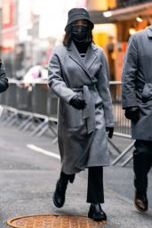 Lucy Hale Winter Style - Out in New York City 12/31/2020