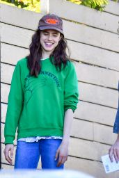 Margaret Qualley - Stop by a Friend