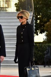 Melania Trump - Departing From the White House in Washington DC 01/20/2021