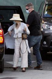 Melissa Cohen Street Style - Los Angeles 01/14/2021