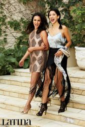 Melissa Fumero and Stephanie Beatriz - Latina Magazine August 2015