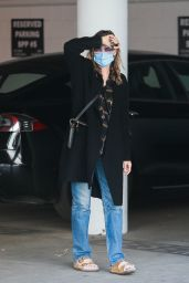 Michelle Pfeiffer - Heads to Her Office in Santa Monica 01/11/2021