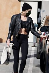 Miley Cyrus - Leaving a Gym in West Hollywood 01/24/2021