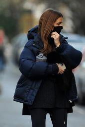 Millie Mackintosh Winter Street Style - London 01/15/2021