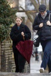 Mircea Monroe - Out in North London 01/04/2021