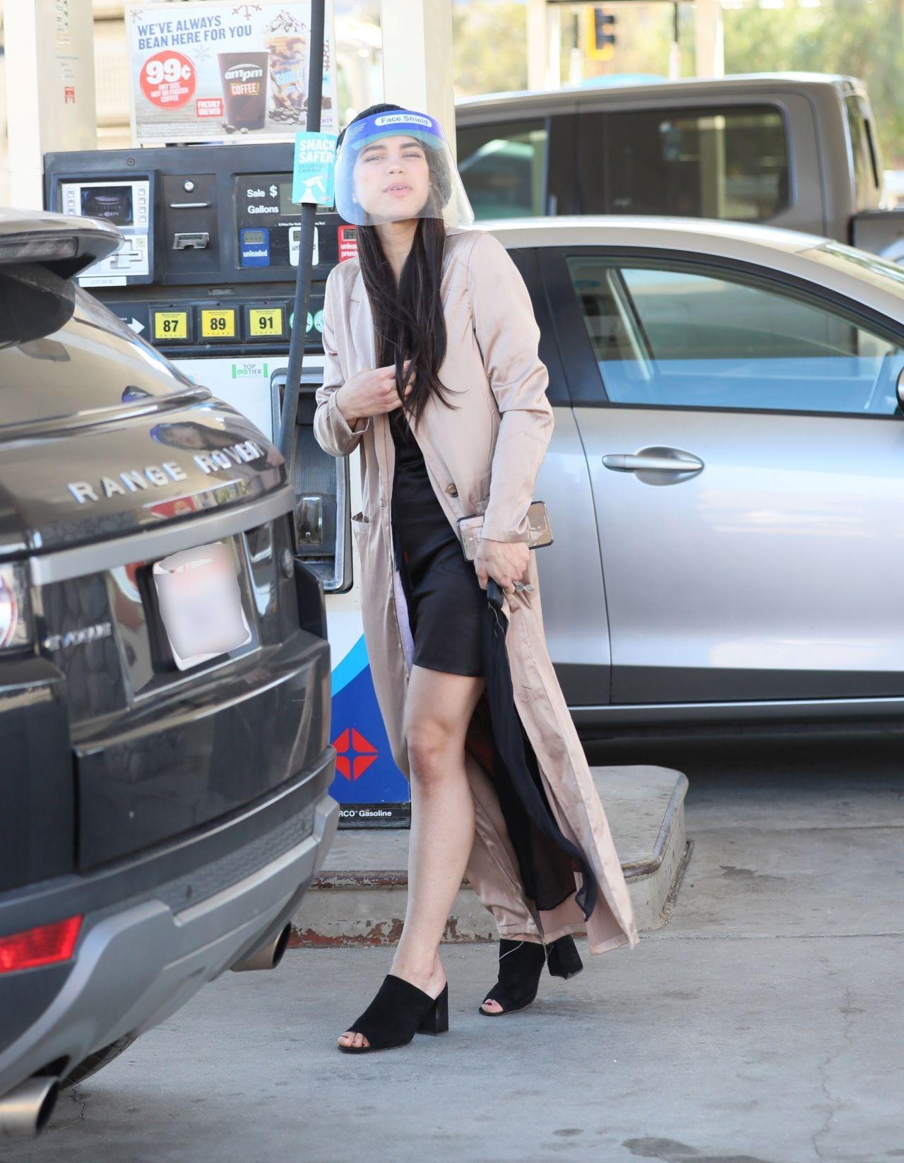MIYA PONSETTON Shopping at Target in Los Angeles 07/01