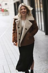 Mollie King - Arrives Back at BBC Radio One Studios in London 01/04/2021
