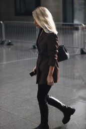 Mollie King at the BBC Broadcasting House in London 01/29/2021