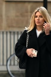 Mollie King in Casual Outfit - London 01/09/2021