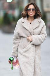 Myleene Klass in Fleece Coat - London 01/09/2021