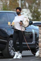 Nicole Murphy - Out in LA 01/12/2012