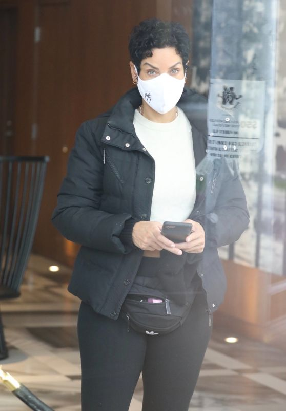 Nicole Murphy - Out in West Hollywood 01/07/2021