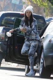 Nina Dobrev in Casual Outfit - LA 01/04/2021