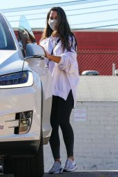 Olivia Munn - Leaving a Gym in LA 01/11/2021