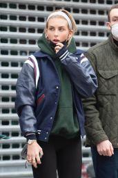Paige Lorenze Street Style - New York 01/14/2021