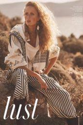 Rianne Van Rompaey - Vogue UK February 2021 Issue