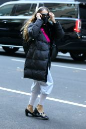 """Sarah Jessica Parker at the """"SJP By Sarah Jessica Parker"""" Store in Manhattan 01/12/2021"""