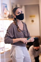 Sarah Jessica Parker - SJP Collection Shoe Store in NY 01/17/2021
