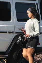 Saweetie - Leaving the Gym in LA 01/08/2021