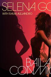 """Selena Gomez - """"Baila Conmigo"""" Cover Art January 2021"""