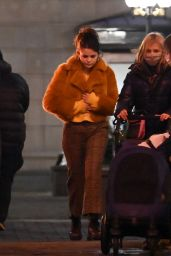 "Selena Gomez - Shooting on Location for ""Only Murders in the building"" in NY 01/17/2021"
