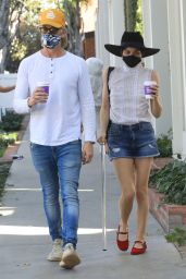 Selma Blair - Out in West Hollywood 01/16/2021