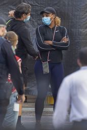 Serena Williams and Venus Williams - Out in Adelaide 01/18/2021