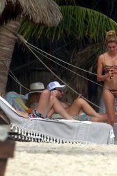 Shayna Taylor in a Bikini - Tulum 01/14/2021