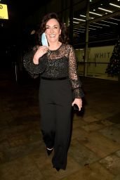 Shirley Ballas - Leaving Media City in Manchester 12/31/2020