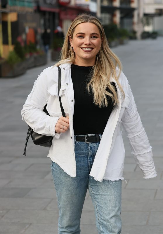 Sian Welby in Double Denim - London 01/07/2021