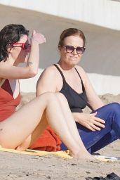 Sigourney Weaver and Charlotte Simpson - Beach in Malibu 01/10/2021