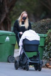 Sophie Turner - Out for an Afternoon Walk Near Her LA Home 01/20/2021