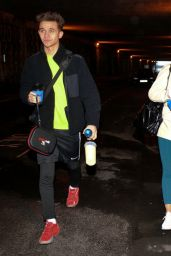 Vanessa Bauer - Arrives at Dancing On Ice Training in Blackpool 01/21/2021