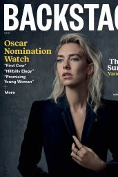 Vanessa Kirby - Backstage Magazine December 2020